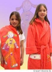 Toallas de baño infantiles, creart osona novedades en textiles infantil especialmente para los niños