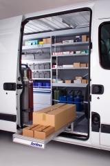 Equipamiento interior para furgones