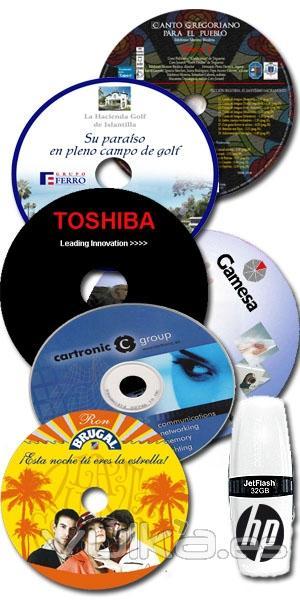 duplicación de CD´S, DVD, PENDRIVE, ETC