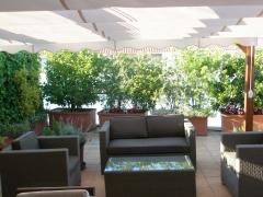 Terrazas, p�rgolas, toldos, mobiliario, iluminaci�n, decoraci�n integral
