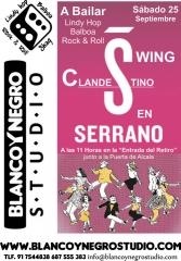 Swing Fashion Clandestino en Serrano A Bailar Lindy Hop