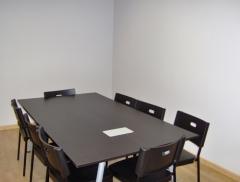 Sala de reuniones donde se debaten trabajos