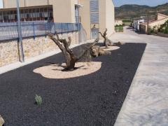 Jardines  Polideportivo de Alloza (Teruel)