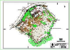Taquimetrico relizado para la compra de parcelas, determinar la superficie y ser la base de un proyecto de arqitectura