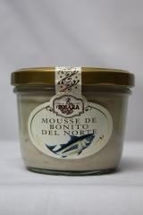 Mousse de bonito del norte en tarro de cristal de 250 grs. puede utilizarse como base de canapés, de ...