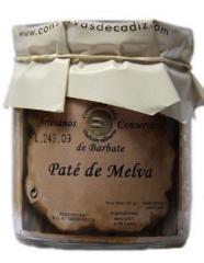 Pat� de melva de almadraba en tarro de cristal de 225 grs