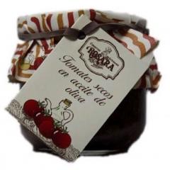 Tomate seco en aceite de oliva en tarro de cristal de 1/4 kg.debido a su sabor intenso a tomate, se recomienda para ...