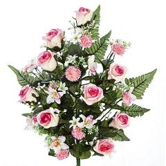 Todos los santos. ramo artificial orquidea fresia rosa. lallimona.com