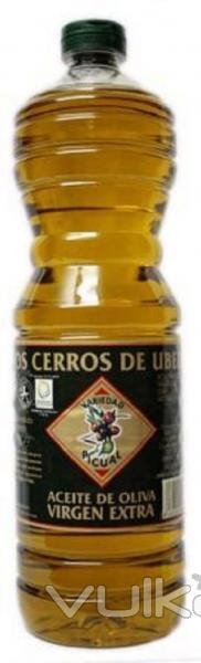 Botella de 1 litro de Aceite de Oliva Virgen Extra 0,3�. Variedad Picual. Aceite de Oliva de Categor�a Superior ...