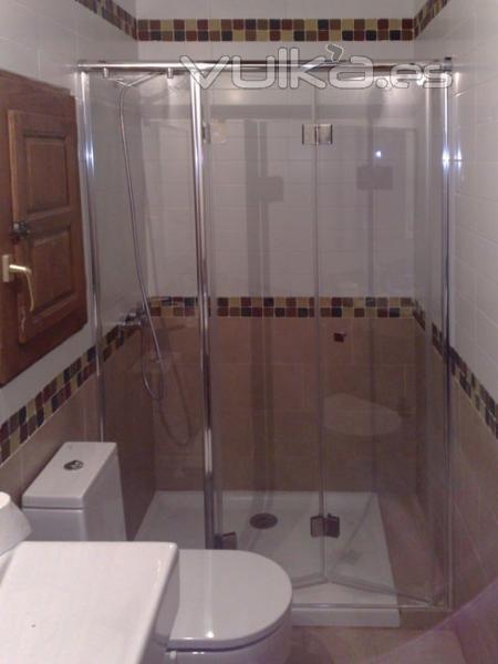 Rcm la casa del ba o manparas de ba o muebles de ba o for Armarios de pared para banos