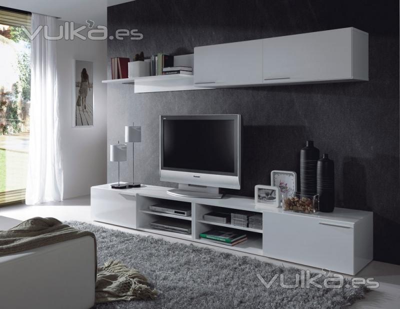Foto 309 euros comedores modernos apilable en for Comedores modernos color blanco