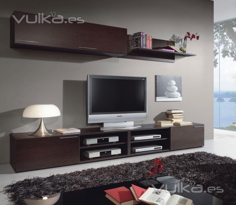 Foto 309 euros comedores modernos apilable en for Muebles bajos de salon modernos