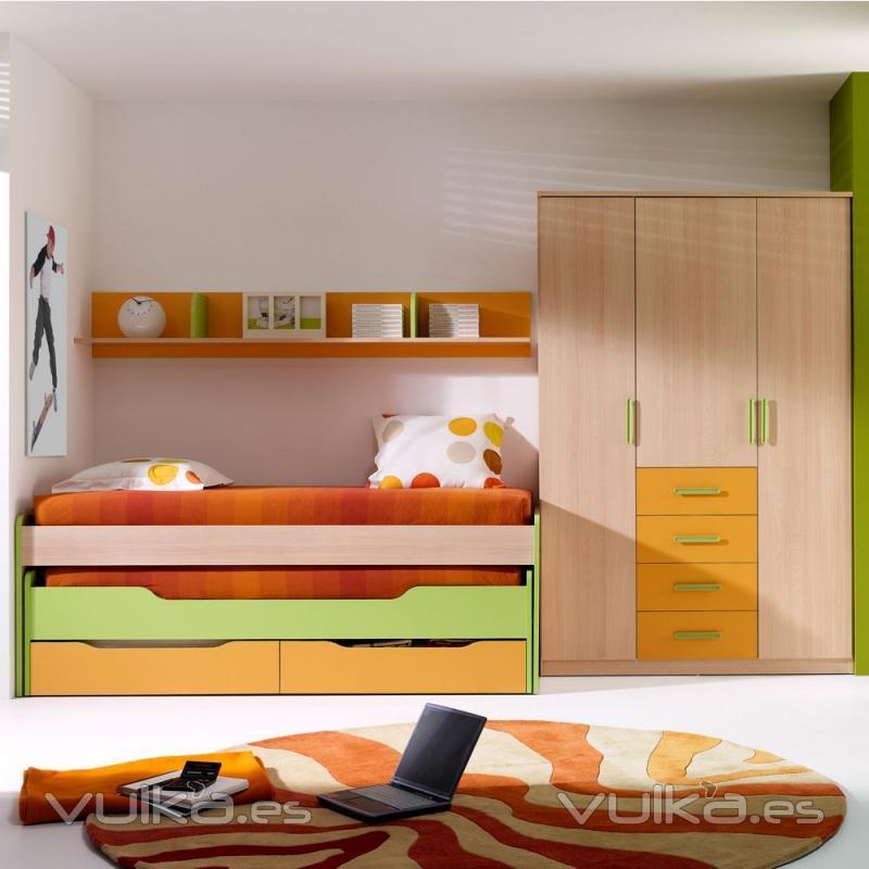 Mobihome - Habitacion juvenil 2 camas ...