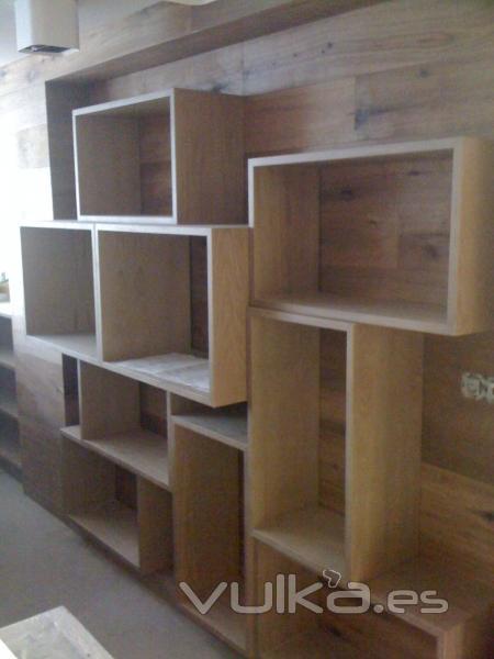 Foto revestimiento de paredes - Revestimientos de madera para paredes ...