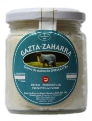 Crema de queso para untar, 250 grs.elaborado a partir de queso madurado (m�nimo 2 meses) de leche cruda de oveja.