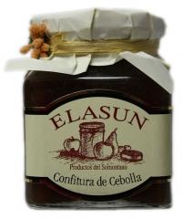 Mermelada de cabolla. elaborada con cebolla de fuentes y vino del somontano, es muy buena con bocadillos calientes ...