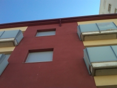 Canal continuo fachada monocapa