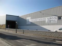 Vista lateral de las instalaciones