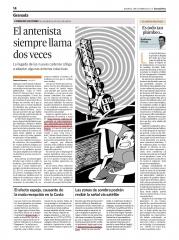 Granada hoy, El antenista siempre llama dos veces