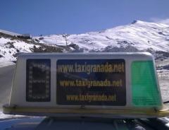Taxi Granada.net en Sierra Nevada a mas de 2.000 m