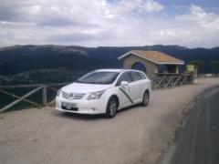 Taxi Granada.net en el mirador de las palomas (Cazorla)