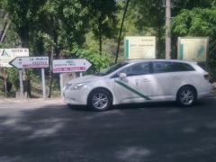 Taxi Granada.net, cerca del nacimiento del Guadalquivir (Cazorla)