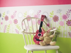 Papel pared happy world en papelpintadoonline.com