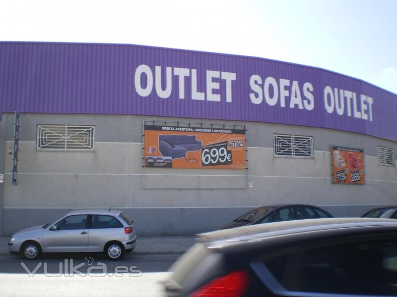 Outlet sofas outlet for Sofas baratos madrid outlet