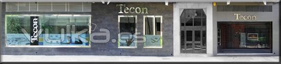 Fachada Tecon Servicios Albacete