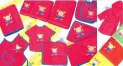 Capas de ba�o y toallas bebe. Un regalo original, una pieza artesanal y un complemento textil totalm