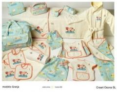Bolsas bebe estampadas. Un regalo original, una pieza artesanal y un complemento textil totalmente f