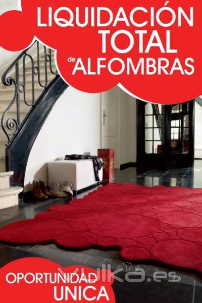 foto liquidacion total alfombras decatalogadas hasta el
