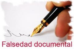 Documentoscopia - falsedad documental