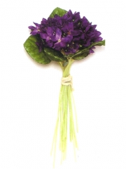 Violetas artificiales de calidad mazo violetas artificiales oasisdecor.com