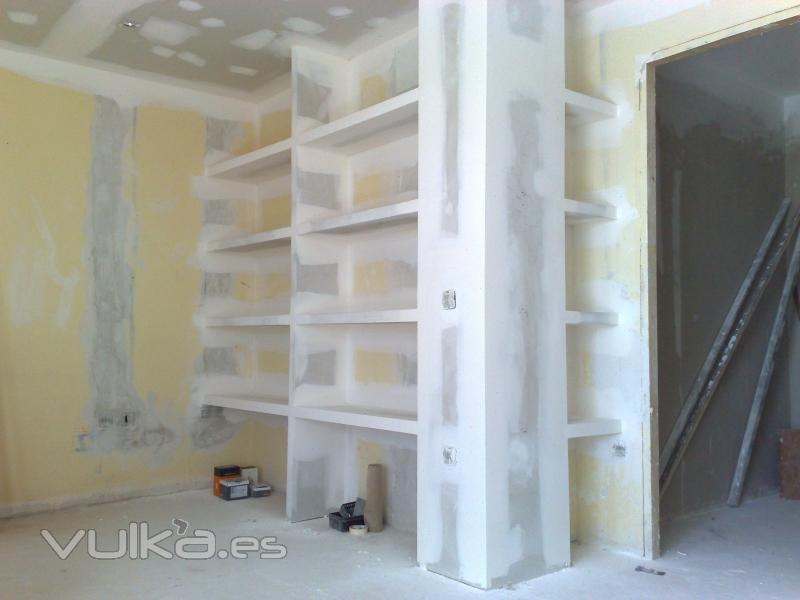 Foto estanteria pladur - Estanterias pladur ...