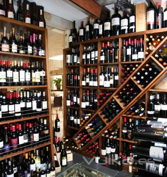 Foto cava de vinos con m s de 500 referencias - Cavas de vino para casa ...