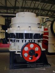 La trituradora de cono serie cs combina la especialidad de alta frecuencia, la optimización de la ca