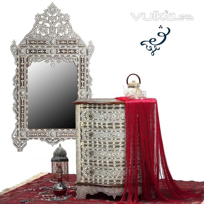 El palacio damasceno - Muebles estilo arabe ...