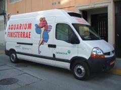 Rotulaci�n furgoneta en vinilo impreso y de corte.