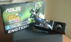 Asus engtx 285 1gb ddr3 -- gamer only !!