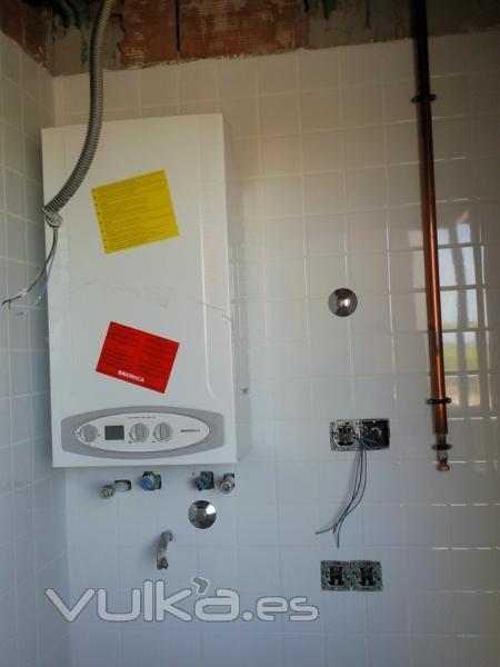 foto instalaci n gas natural con caldera mural
