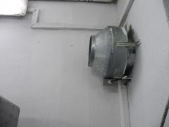 Extractor camara de maduracion platanos, con valvula antirretorno.