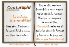 Contarapid es un software de innovación para el área contable, ¡da un paso hacia delante, innova!