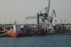 Nuestro servicio de transporte mar�timo de contenedores une los principales puertos.