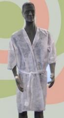 Batas desechables estetica. Un regalo original, una pieza artesanal y un complemento textil totalmen