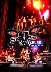 Siames grupo - orquesta 9 componentes pop/rock 100% en directo. valencia y toda espa�a. - foto 20