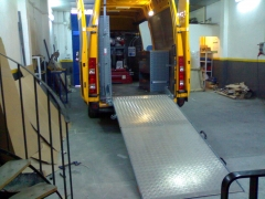 Equipamiento de furgoneta