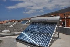 Kit solar para agua caliente sanitaria.