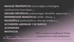 Foto 8 tercera edad en Córdoba - Centro de Fisioterapia ana Reyes