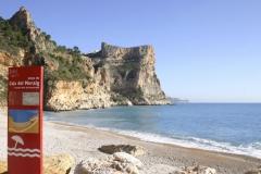 Playa del moraig en cumbre del sol
